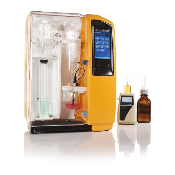 sistema de destilacion vapodest 450 sica medicion