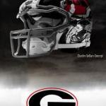 UGA Nike Pro Combat Helmet 8