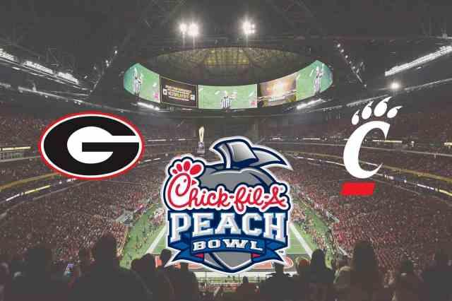 Georgia to face Cincinnati in Chick-fil-A Peach Bowl
