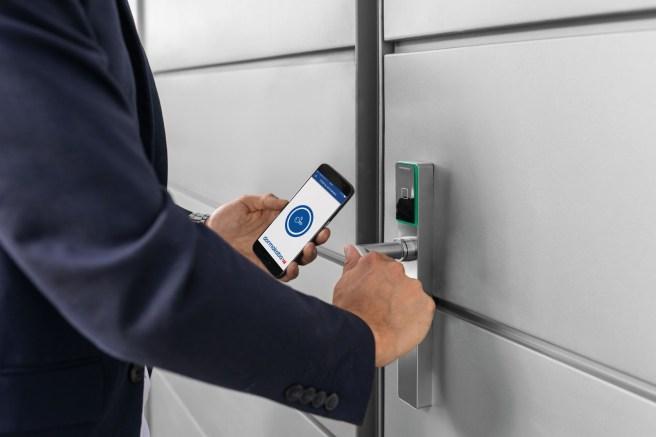 Das Smartphone fungiert als Schlüssel.