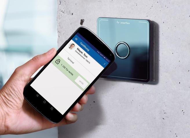 """Mit """"Zutritt 5.0"""" bringt Interflex Lösungen für das Zutrittsmanagement der Zukunft auf den Markt."""