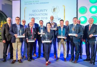 Die Sieger des Security Innovation Awards 2018