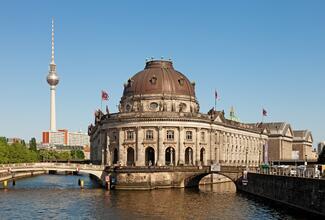 Das Bode-Museum in Berlin war Schauplatz eines spektakulären Diebstahls.