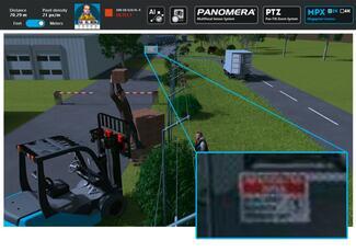 Moderne Megapixel-Kameras bilden stets das Gesamtbild ab. Vor allem bei Zoomvorgängen fehlt es aber in den hinteren Bildbereichen oftmals an der nötigen Detailauflösung.