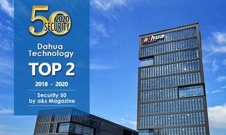 Das dritte Jahr in Folge belegt Dahua Technology den zweiten Platz im Security 50 Ranking von A&S.