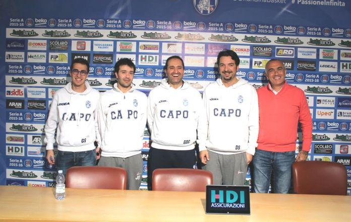 Giuseppe Sindoni, Jorge Silva, Gennaro Di Carlo, Davide Sussi, Enzo Sindoni