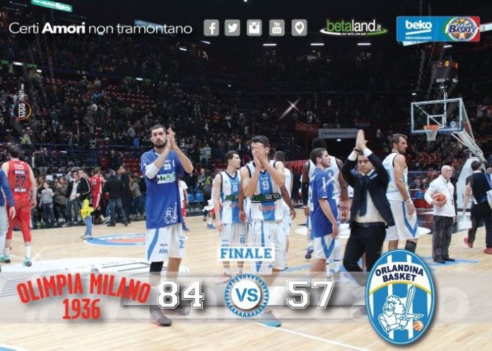Olimpia Milano - Capo D'Orlando