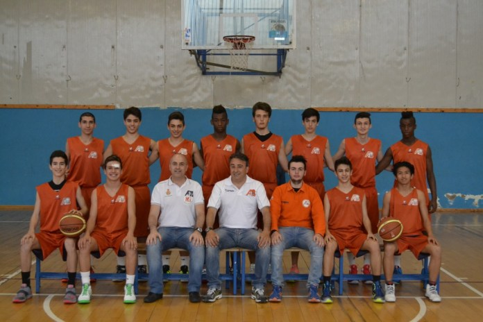 Amatori Basket Messina Under 16 campione regionale 2014-2015