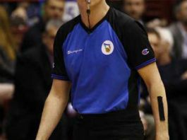 L'arbitro siciliano Carmelo Paternicò