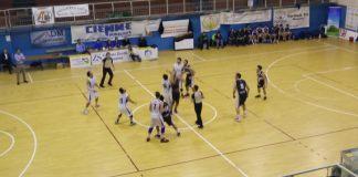 Palla a due Gruppo Zenith Messina - Adrano