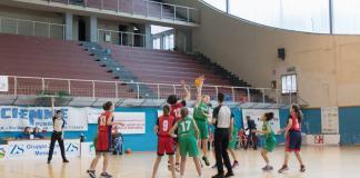 Palla a due Virtus Augusta - Rescifina Messina Under 13