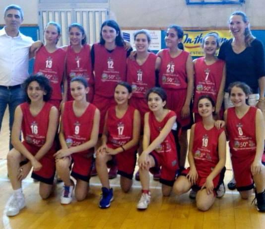 U13 femminile Rescifina campione regionale