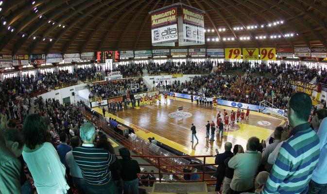 Il PalAlberti campo del Basket Barcellona