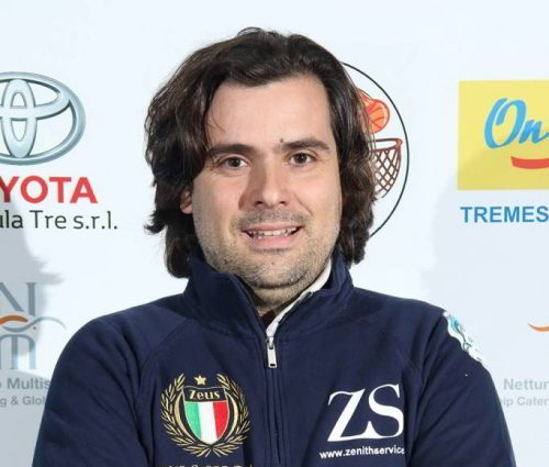 Team Manager Gruppo Zenith Messina Bruno Donia Sofio