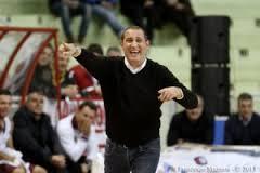 L'allenatore Flavio Priulla