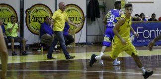 Coach Giacomo Genovese della Virtus Trapani