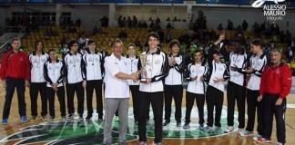 Salvatore Curella premia la Pegaso Ragusa campione d'Italia