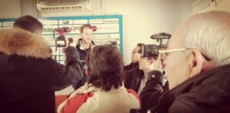 Chiarastella in conferenza stampa