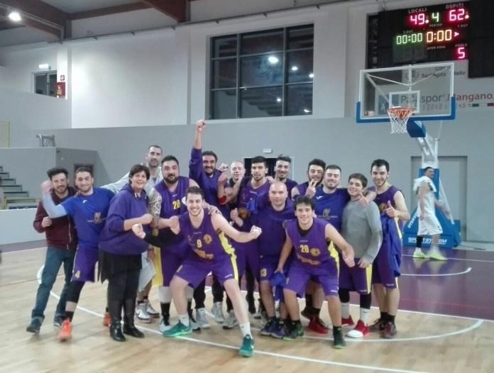 Il Castanea festeggia la vittoria a Sant'Agata