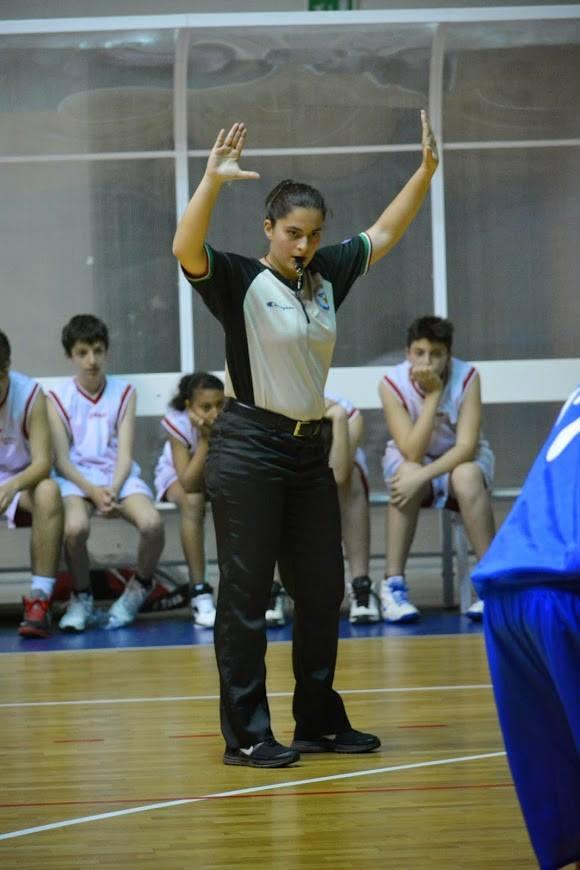 L'arbitro Sara Sciliberto
