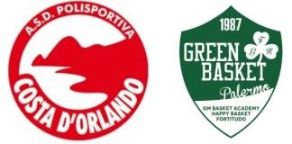 Le avversarie di Costa D'Orlando e Green Basket Palermo nella corsa alla B Nazionale