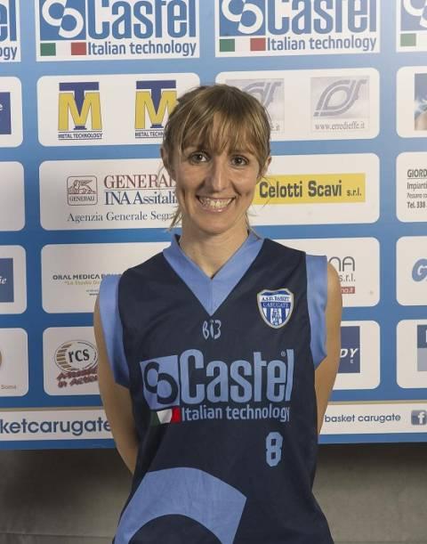 Susanna Stabile lascia il basket giocato. La lettere del presidente Fip Sicilia Riccardo Caruso