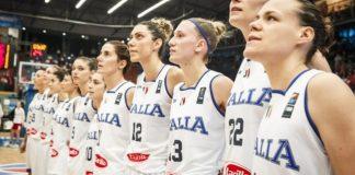 Alessandra Formica con la Nazionale Azzurra
