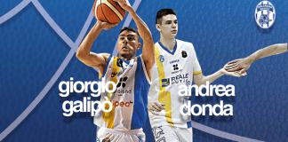 Giorgio Galipò e Andrea Donda