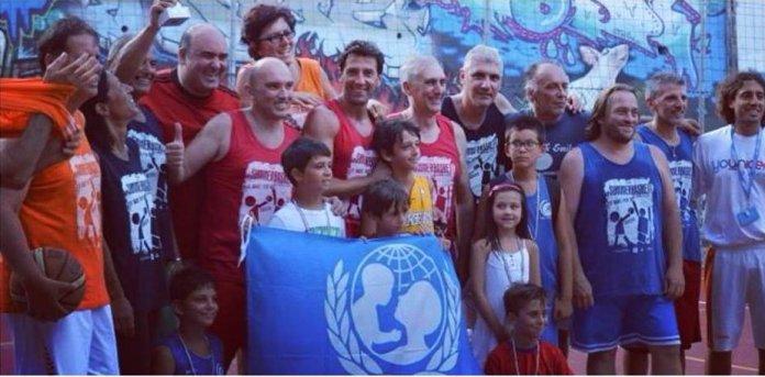 Basket for Unicef all'Ignatianum di Messina