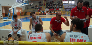 Coach Flavio Priulla e le Eagles Palermo al time out