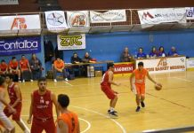 Mondello (Amatori Basket Messina) in azione