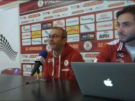Ducarello in conferenza stampa