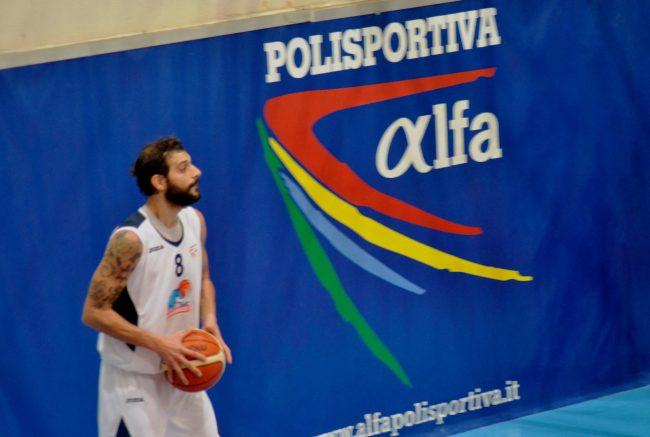 Marco Consoli play dell'Alfa Basket Catania