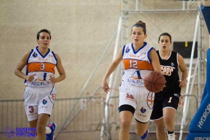 Russo e Miccio dell'AndrosBasket Palermo