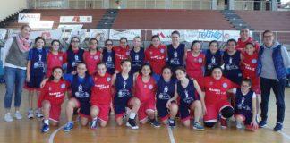 Le formazioni U13 e U14 della Polisportiva Giuseppe Rescifina