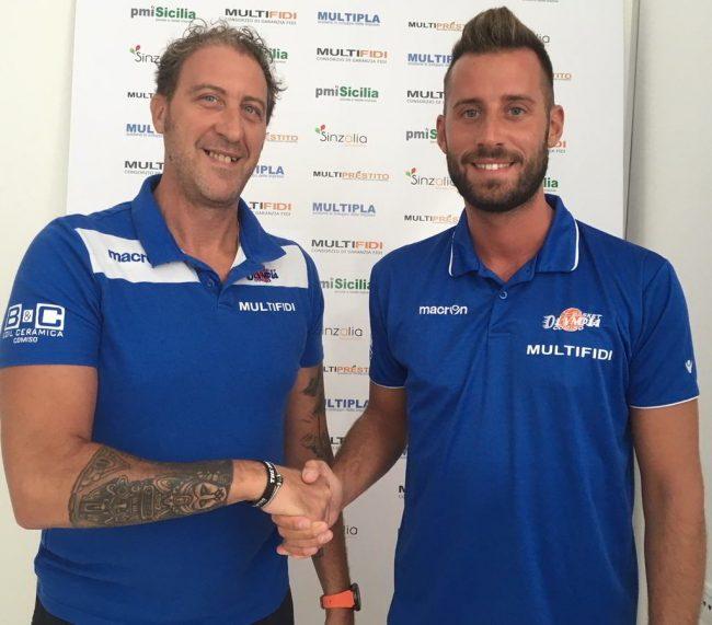 Coach Davide Ceccato e Davide Boiardi