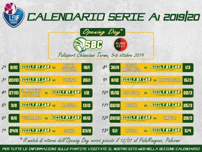 Calendario Esami Unisa.Calendario A1 Basket Calendario 2020
