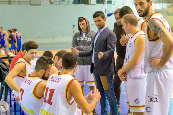 Time out ZS Group Messina (Foto Giovanni Mazzullo)