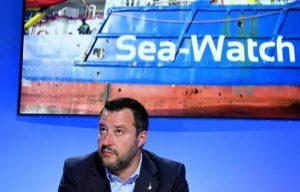 """Paletta rossa per la """"Sea Watch 3"""""""