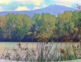 Lago sull'Etna
