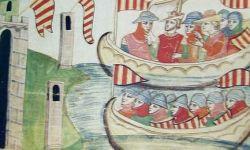 Vespri Siciliani - Pietro III d'Aragona sbarca in Sicilia