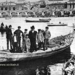 Catania Archi della marina porto di catania 1900