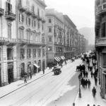Foto antiche di Palermo - Via Roma (anni 30)