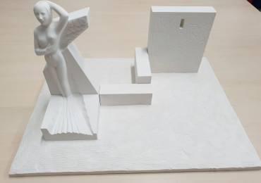 Belpasso, una scultura monumentale per ricordare l'eruzione del 1669