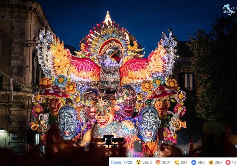 Carnevale dei fiori, ad Acireale le fontane danzanti in piazza