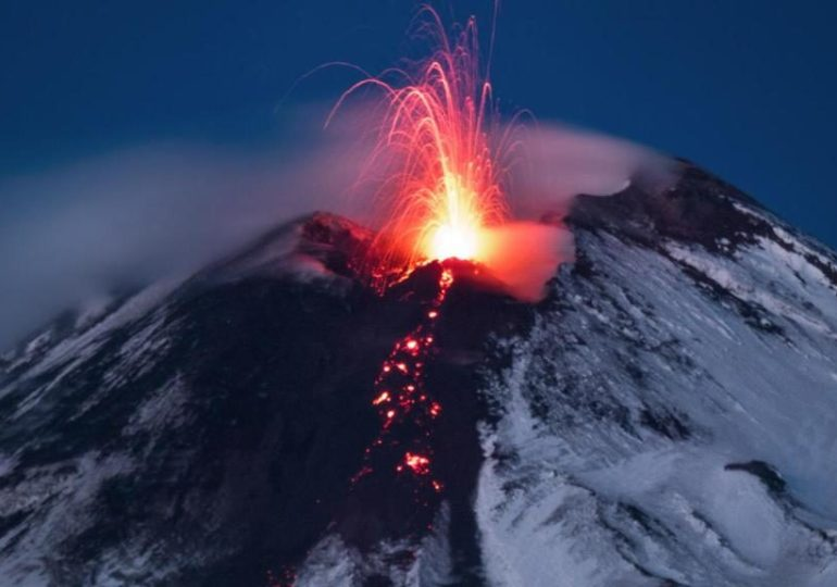 Etna, una nuova eruzione dal cratere di Sud-est
