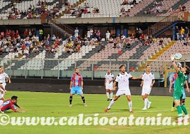 Tre cin-cin del Catania in Coppa. La sorpresa è Kevin Biondi