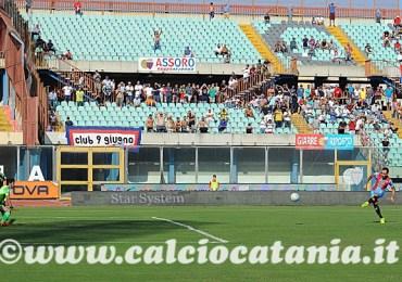 Catania - Viterbese 1-0 Decide Lodi su rigore. Biagianti, Bucolo e Marchese non convocati per punizione