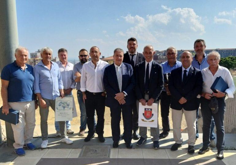 Il presidente FIR Gavazzi premia il rugby siciliano