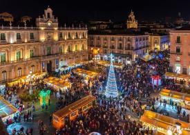 Anche Catania ha il suo Villaggio di Natale